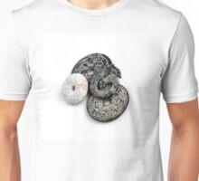 Jade Black And White Unisex T-Shirt