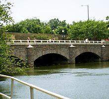 Bridge by Potomac River by Cristy Hernandez