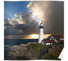 Lookout Lighthouse Poster
