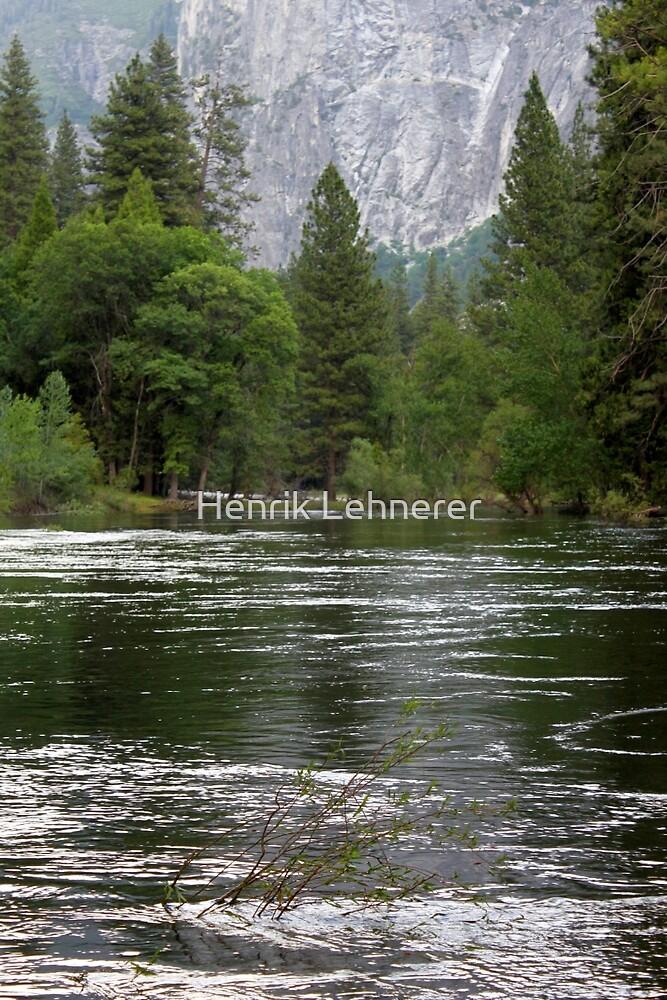 Yosemite Merced River by Henrik Lehnerer