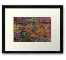 Colors Framed Print