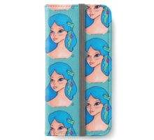 Seaweed Hair, Don't Care iPhone Wallet/Case/Skin