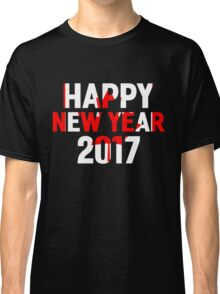 Happy New Year Canada 2017 Classic T-Shirt