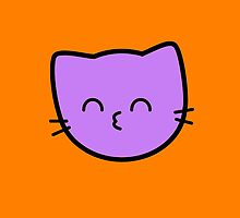 Kawaii Kitty Cats 2048 - tile 64 by hadosabi