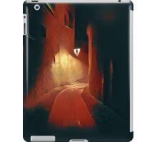 Dark night, red light iPad Case/Skin
