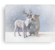 Winter time Metal Print