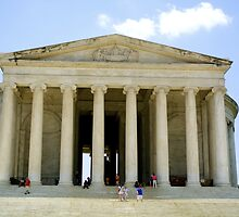 Jefferson Memorial by Cristy Hernandez
