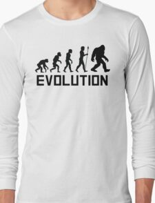 Bigfoot Evolution Long Sleeve T-Shirt