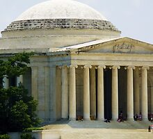 Jefferson Memorial Side by Cristy Hernandez
