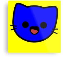 Kawaii Kitty Cats 2048 - tile 128 Metal Print
