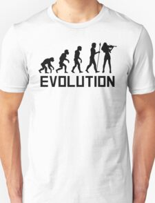 Violin Evolution Unisex T-Shirt