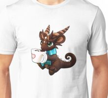 Hot Cocoa Dragon Unisex T-Shirt