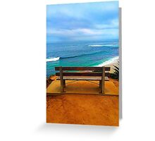A Seat in Paradise Greeting Card