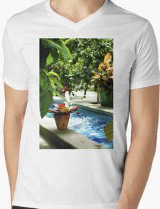 Botanical Gardens Mens V-Neck T-Shirt