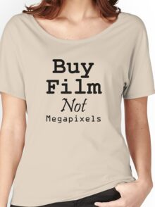 Buy Film Not Megapixels Women's Relaxed Fit T-Shirt