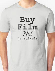 Buy Film Not Megapixels T-Shirt