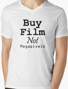 Buy Film Not Megapixels Mens V-Neck T-Shirt