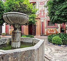 Spanish Courtyard by TonyCrehan