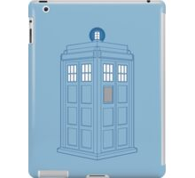 Vanishing TARDIS Outline iPad Case/Skin