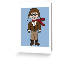 Pilot - Fly Me To The Moon Greeting Card