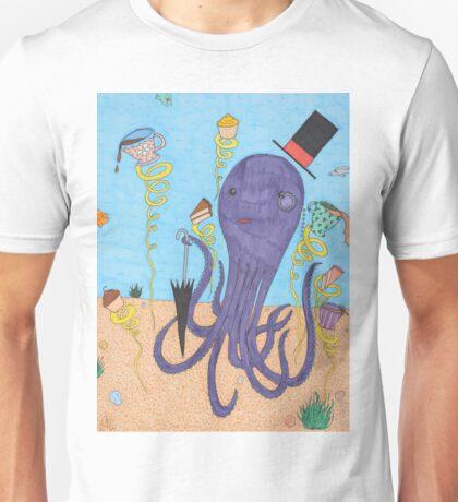 Octopus Tea Party Unisex T-Shirt