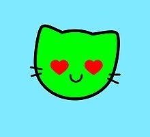 Kawaii Kitty Cats 2048 - tile 512 by hadosabi