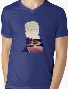 Never in fact homeless Mens V-Neck T-Shirt