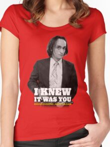 I Knew It Was You | Rediscovering John Cazale Women's Fitted Scoop T-Shirt