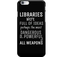 Libraries iPhone Case/Skin