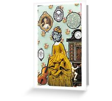 Colonial Dollhouse Greeting Card