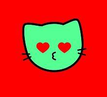 Kawaii Kitty Cats 2048 - tile 1024 by hadosabi
