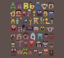 Sesame Street Alphabet One Piece - Short Sleeve