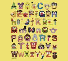 Sesame Street Alphabet Baby Tee