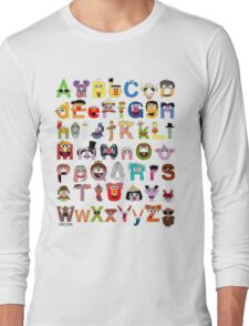 Sesame Street Alphabet Long Sleeve T-Shirt