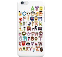 Sesame Street Alphabet iPhone Case/Skin