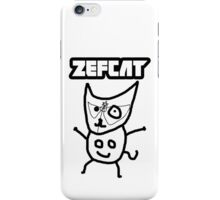 Zefcat iPhone Case/Skin
