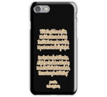 J.R.R, Tolkien, The Fellowship of the Ring, All that is gold does not glitter, iPhone Case/Skin