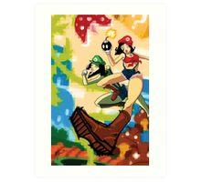 The Super Maria Sisters Art Print