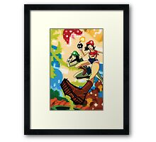 The Super Maria Sisters Framed Print