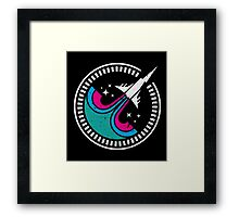 SciFi Mission Patch - Adder Squad Framed Print