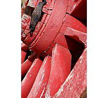 Cart wheel Photographic Print