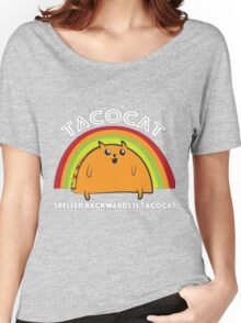 Tacocat spelled backwards is Tacocat Women's Relaxed Fit T-Shirt