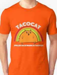 Tacocat spelled backwards is Tacocat Unisex T-Shirt