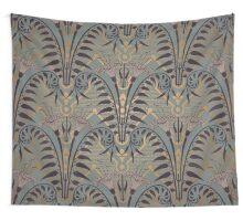 Genuine,original,art deco,art nouveau,wall paper, pattern Wall Tapestry