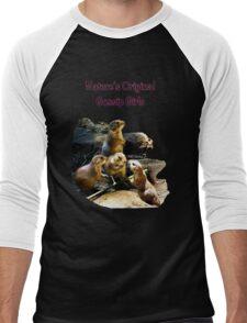 Gossip Girls Men's Baseball ¾ T-Shirt