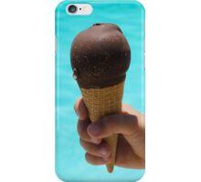 Ice cream in a child's hand close-up iPhone Case/Skin