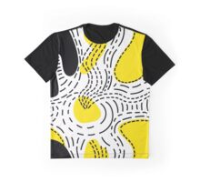 Stylish geometric stitches fantasy print Graphic T-Shirt