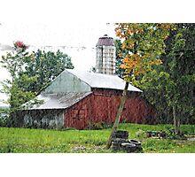 Ohio Barn Photographic Print