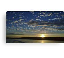 San Juan Island Sunset Canvas Print