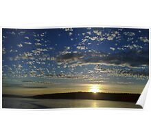 San Juan Island Sunset Poster